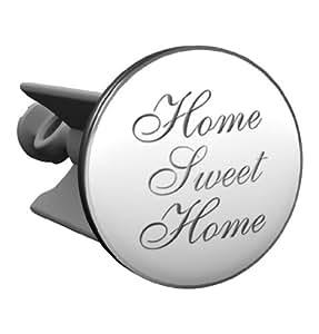 Waschbeckenstöpsel Home sweet Home, das Original von Plopp®, Qualität made in Germany