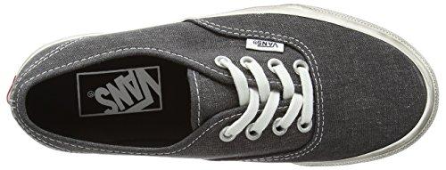 Vans U Authentic Overwashed Sneakers, Unisex Black (Overwashed - Black)