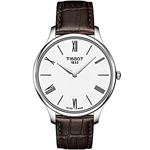 Tissot Reloj Analógico para Hombre de Cuarzo con Correa en Cuero T0634091601800