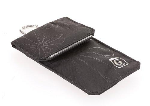Golla Ray Universal Handyhülle Pouch Tasche für Smartphone Mobile Bag mit Lasche und Karabinerhaken - Schwarz/Hellgrau Universal Mobile Pouch