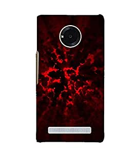 Explosion 3D Hard Polycarbonate Designer Back Case Cover for YU Yuphoria :: YU Yuphoria YU5010