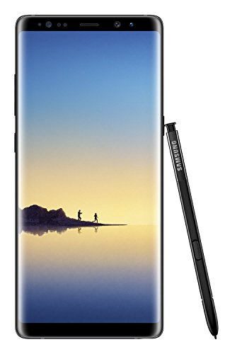 "Samsung Galaxy Note 8, Smartphone libre (6.3"", 6GB RAM, 64GB, 12MP/Versión alemana: No incluye Samsung Pay ni acceso a promociones Samsung Members), color Negro"