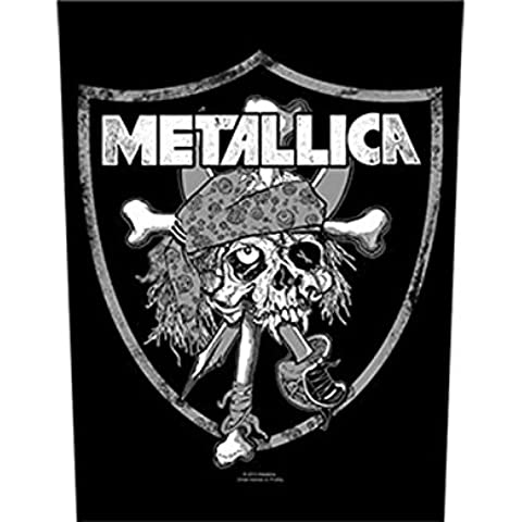 Metallica - Raider's Skull - Parche Grande/Back Patch - Envío GRATUITO