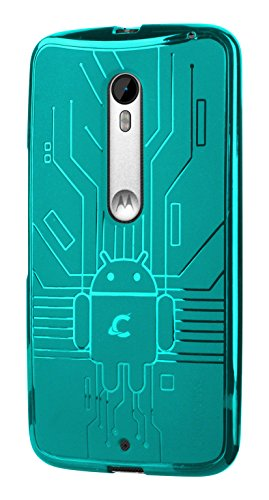 Moto X Style Case, Cruzerlite Bugdroid Circuit Case for the Motorola Moto...