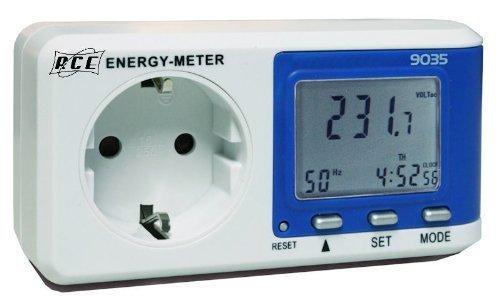 Medidor Contador Controlador Enchufe Consumo Electricidad Vatímetro Medidor del consumo energético Controlador de consumo RCE P9035