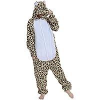 Fandecie Pigiama/costume onesie da adulti, tema: Zebra,