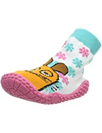 Playshoes Calcetines de Playa con Protección UV Die Maus Floral, Zapatos de Agua Unisex niños