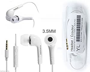 Samsung Earphone with Call Receiver and Volume Controller Button suitable for Intex Cloud Tread PHONES