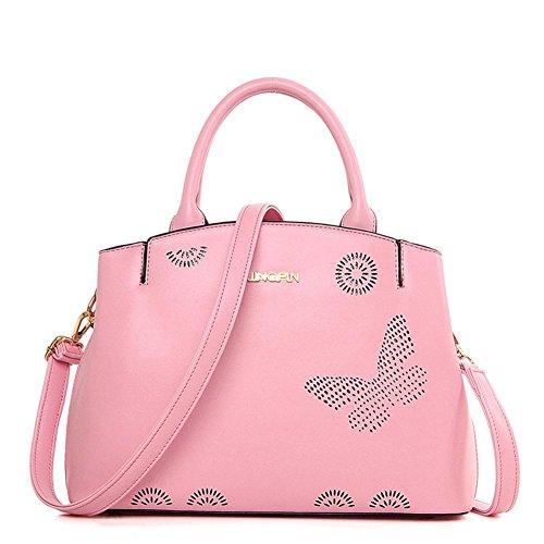 GBT Frau Tasche Handtasche Schultertasche große Tasche Pink