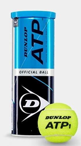 DUNLOP ATP 3er Dose Tennisball, gelb, nosize