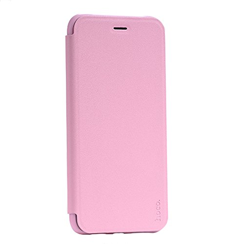 iPhone 7 Plus Funda, PUGO TOP cuero de la PU Funda tipo cartera para iPhone 7 Plus de 5,5 pulgadas de Apple, rosado