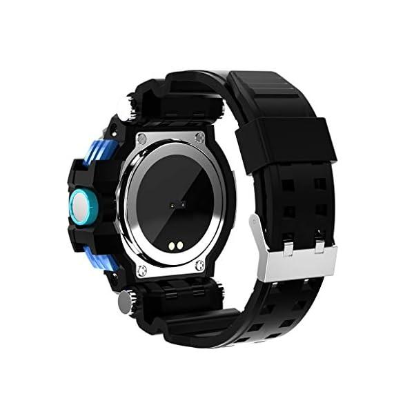 12shage Reloj Inteligente Hombre, IP68 Smartwatch con Pulsera Actividad Reloj Deportivo Monitor de Sueño Pulsómetro Podómetro para Andriod y iOS 3