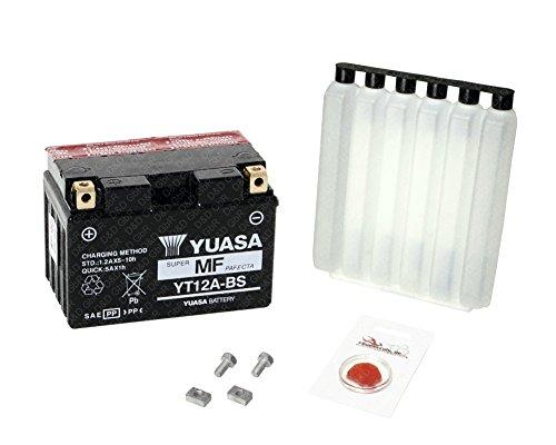 YUASA Batterie für Suzuki SFV 650 Gladius, 2009-2014 (CX), wartungsfrei, inkl. Pfand €7,50