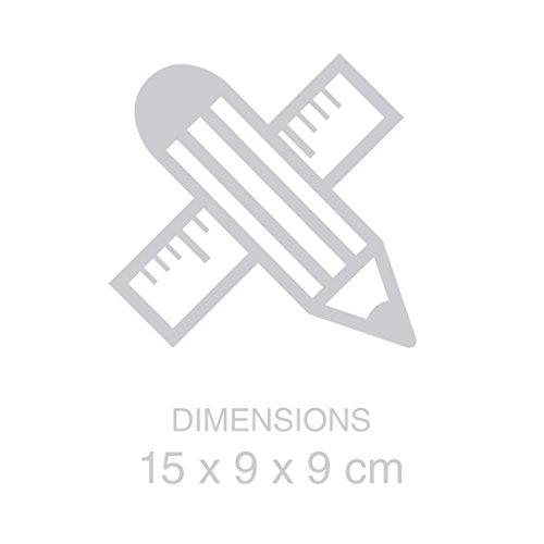 Balvi-Flickervelaelectrónica.Fabricadaconcera,efectorealista.Funcionaconpilas.Diámetro9cm-altura15.2cm