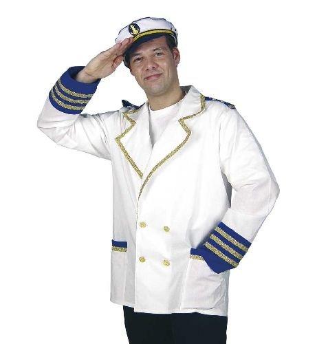Schiffskapitän Kostüm Kinder - Kapitänsjacke Kapitän Gr L