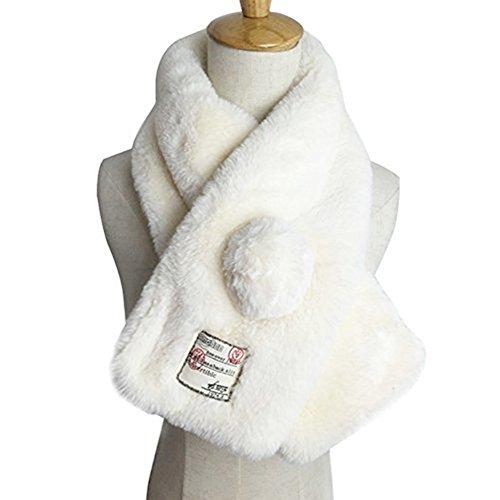 Damen Winter Schal, Damen Warmer Schal, Mode Weich Warm Verdickung Plüsch Schals, Winter Plüsch Schals Womens Cape Shawl Cloak Wrap - Plüsch-schals