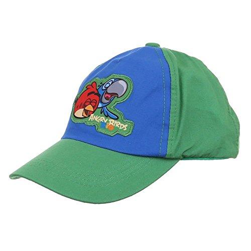 Casquettes, capuchon garçon garçon Angry Birds Angry Birds Rio Casquette Casquette casquettes Vert