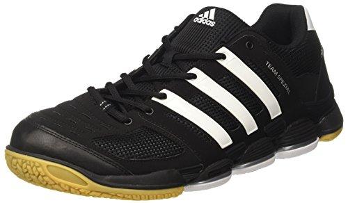 adidas Team Spezial, Chaussures de Fitness Homme, Noir Nero (core black/ftwr white/silver met.)