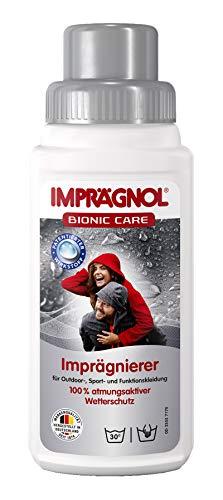 Imprägnol Bionic Care Imprägnierer 250ml: Wäscheschutz für jede Wetterlage - idealer Kleidungsschutz für Outdoor,- Sport- und Funktionskleidung, PFC-frei