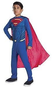 DC Comics - Disfraz de SupermanJustice League para niño, infantil 5-6 años (Rubie