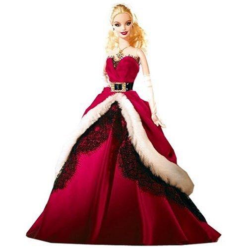 Barbie Mattel - Poupée Collector Joyeux Noel 2007