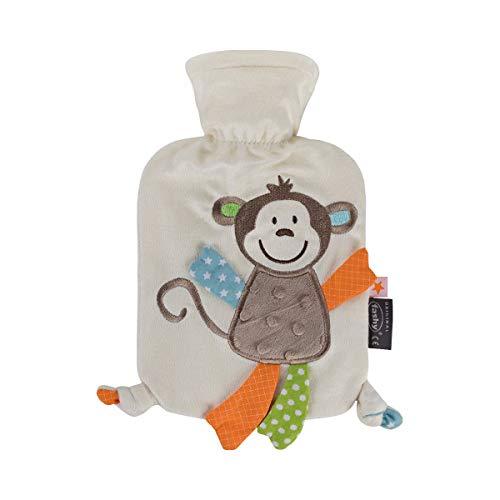 Wärmflasche mit Flauschbezug Affe Affonso
