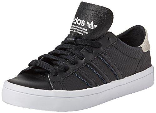 adidas Courtvantage W, Zapatillas de Deporte para Mujer, Negro Negbas/Ftwbla, 39 1/3 EU
