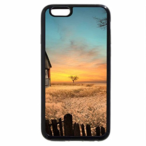 iPhone 6S / iPhone 6 Case (Black) Old playground house