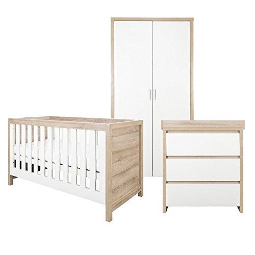 Tutti Bambini Modena Room Set White (3 Piece Set)