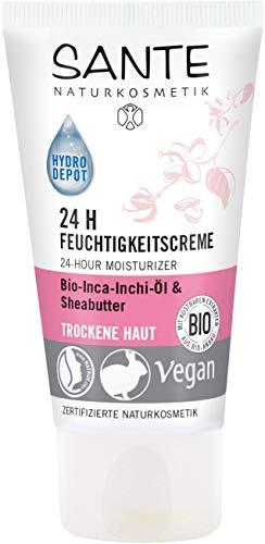 Sante Naturkosmetik 24H Feuchtigkeitscreme, 50 ml
