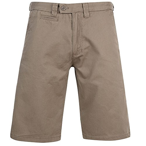 mens-kam-chino-shorts-smart-casual-beachwear-summer-black-taupe-kbs-387-30-60taupe60-in