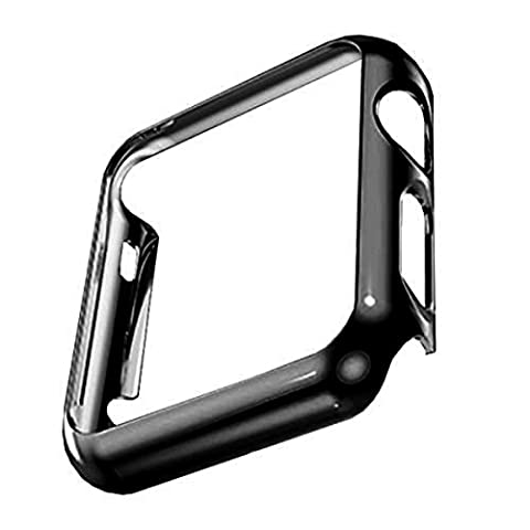 Apple Watch PC Plated Protective Cover Case (PC Case Black 38mm), Only Designed for Apple Watch Series 1(No screen protector)