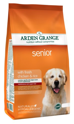 Arden Grange Adult Senior Dry Dog Food, Chicken, 2 Kg
