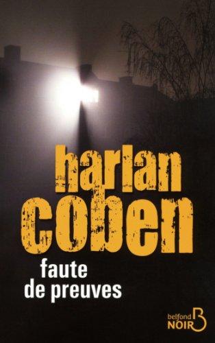 Faute de preuves (BELFOND NOIR) (French Edition)
