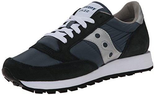 Saucony Saucony Jazz Original Men, Baskets mode homme Bleu (Navy/Silver)