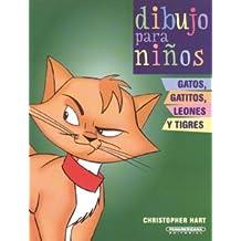Gatos, gatitos, leones y tigres/Cats, kittens, lions and tigers (Dibujo Para Ninos/Kids Draw)
