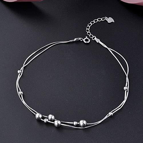 Antik Korn (Monllack Antike Frauen-Armband-Elegante Charme-Frauen-moderner und glatter Korn-Stift-Fuß-Kettenschmucksachen für Damen)