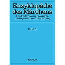 Enzyklopädie des Märchens: Verzeichnisse, Register, Corrigenda