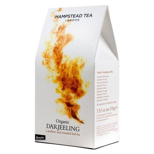 Hampstead Tea Organic Fairtrade Darjeeling Loose Leaf Tea (100g) by Hampstead Tea