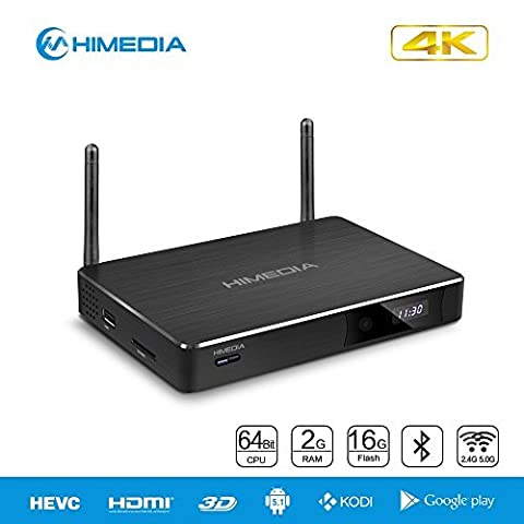 HiMedia H8 Plus 64-bit Octa-Core Android 5.1 Lollipop TV Box