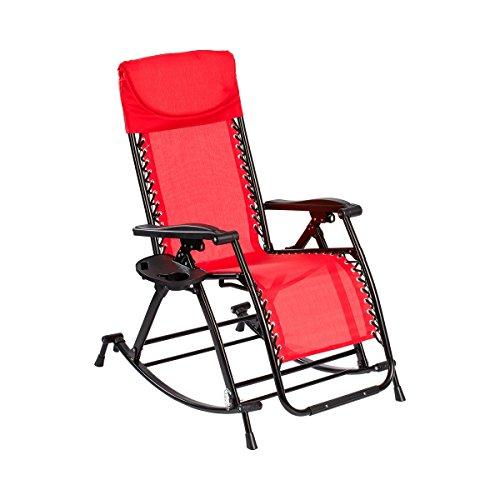 Vario-Schaukelstuhl+ GRATIS Einhänge- Tablett Gartenmöbel Relaxstuhl Entspannung Outdoormöbel wetterfest Gartenliege Schwingstuhl Gartenstuhl