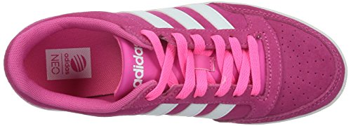 Adidas Hoops Vl W, Scarpe sportive, Donna Pink/Ftwwht/Sopink