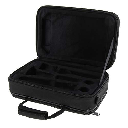 SM SunniMix Wasserdicht Gig Bag Box Oxford Tuch Tasche für Klarinette mit Schultergurt, Foam Baumwolle gefütterte