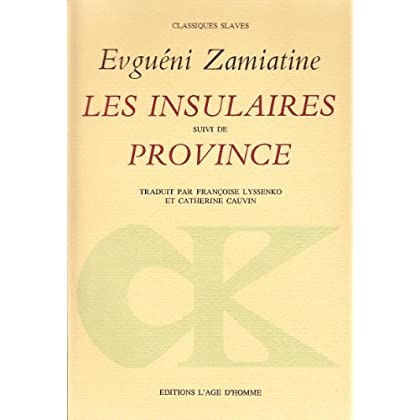 Les Insulaires : Province