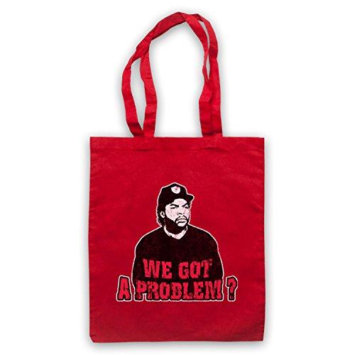 Inspiriert durch Boyz N The Hood Doughboy Inoffiziell Umhangetaschen Rot