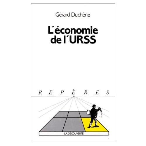L'ECONOMIE DE L'URSS. : Edition 1989