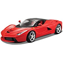 Bburago - 1/18 Ferrari Race & Play LaFerrari, color rojo (18-16001)