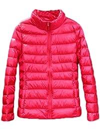Otoño Invierno Mujer Abajo Chaqueta Casual Mantener Caliente Manga Larga Ropa de Abrigo de Plumas Coat