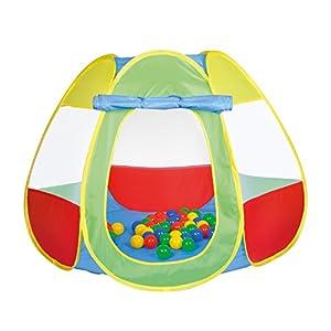 Knorrtoys 55323-Pelotas baño bellox Incluye 50Pelotas, Multicolor