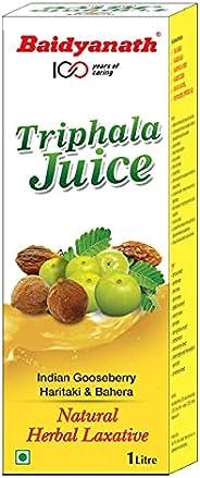 Baidyanath Triphala Juice - Ayurvedic, Herbal Laxative - 1L